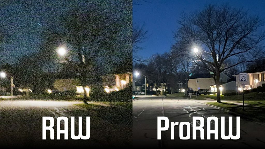 ProRaw Apple