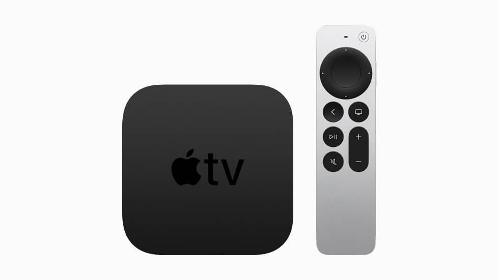 Apple TV 4K с чипом