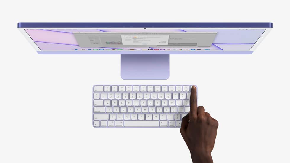 последний iMac 2021
